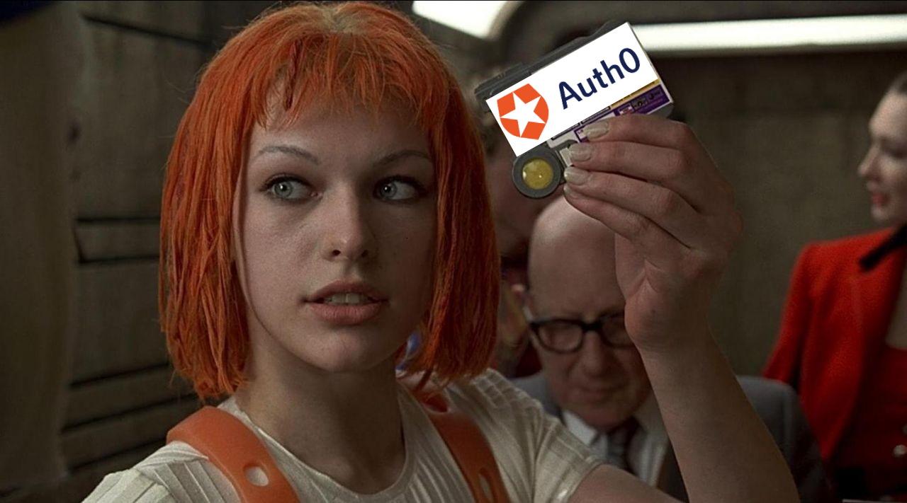 Leeloo Dallas Auth0 Multipass